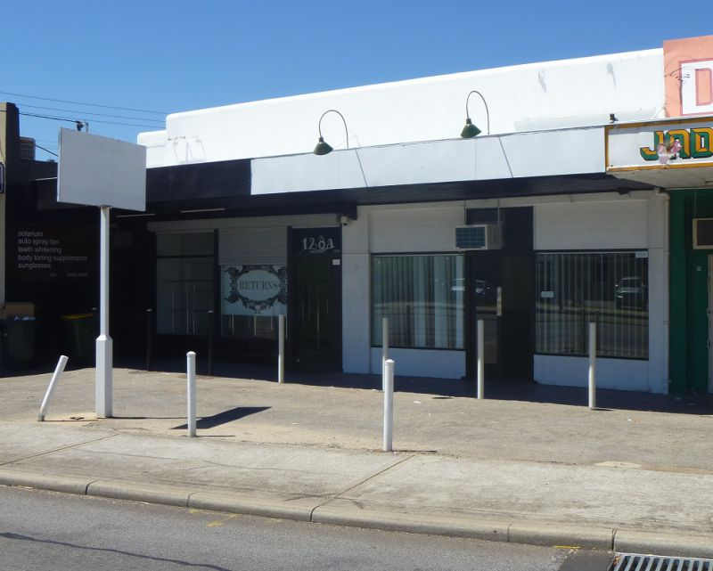 Canning Highway Shopfront With Signage